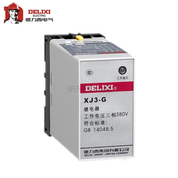 德力西电气 断相与相序保护继电器;xj3-g ac380v
