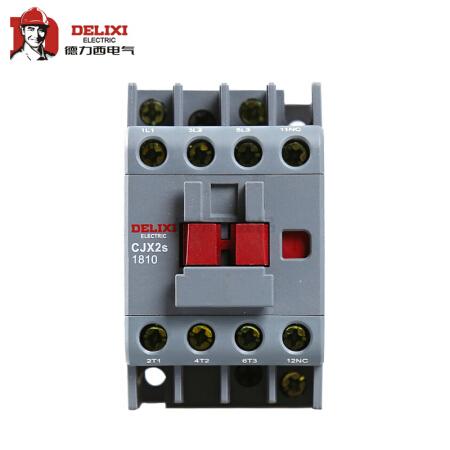 德力西电气 交流接触器;cjx2s-1810 220v/230v 50hz