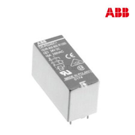 ABB PCB 继电器 插拔式中间接口继电器;CR-P024DC1