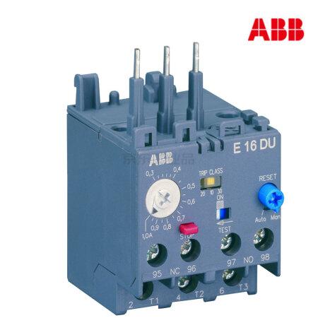 ABB 电子式过载继电器;E16DU-0.32A