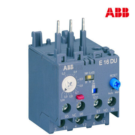 ABB 电子式过载继电器;E16DU-6.3A