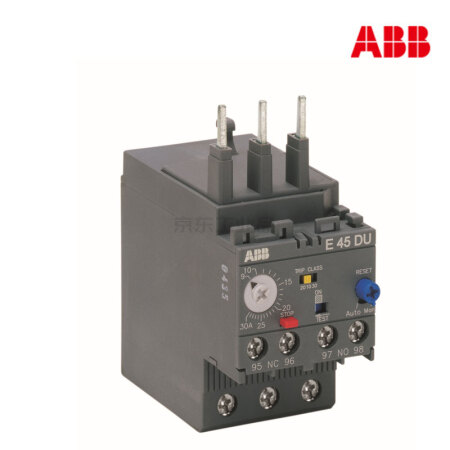 ABB 电子式过载继电器;E45DU-45A