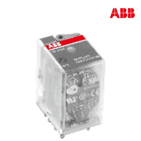 ABB 微型插拔式接口继电器;CR-M230AC4