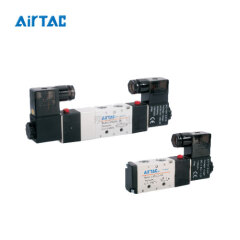 亚德客(AirTAC) 二位五通单电控电磁阀,端子式;4V21008A