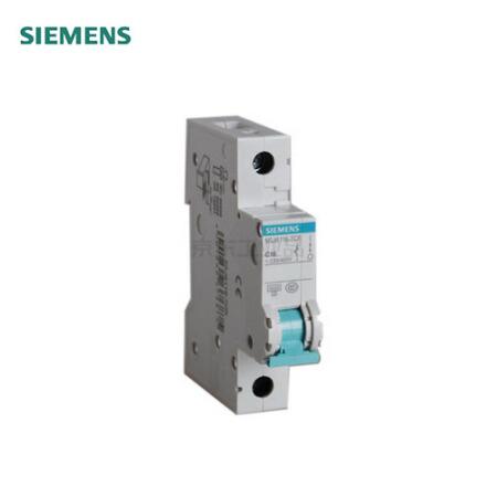 西门子 小型断路器 绿色系列 1P 16A,12个/盒;5SJ6-C16-1P
