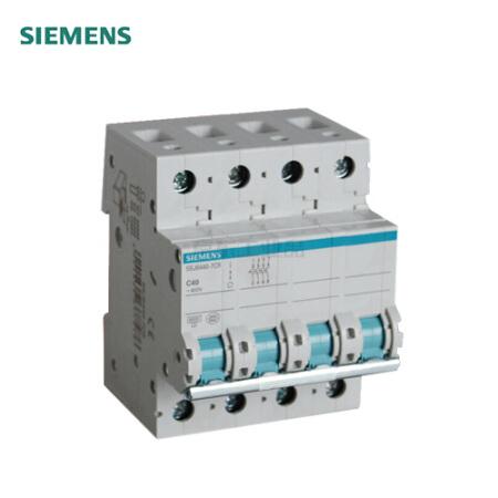 西门子 小型断路器 绿色系列 4P 10A;5SJ6-C10-4P