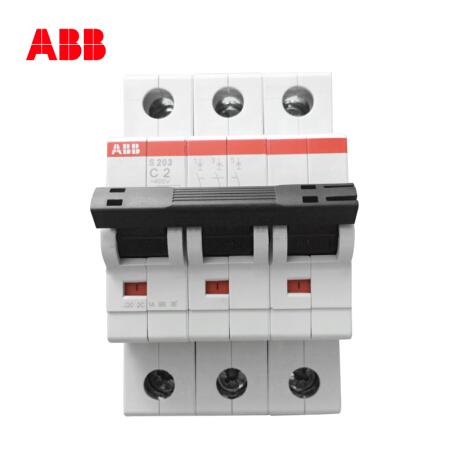 ABB 微型断路器;S203-B1