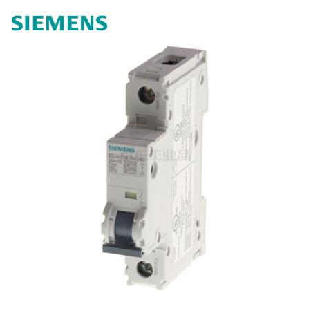 西门子 微型断路器;5SJ4 1P C50 240V AC