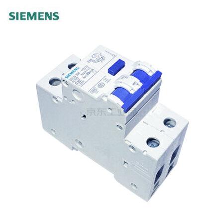 西门子 电子式剩余电流保护断路器;5SU9/SN AC 30 mA 1P+N 6KA C50