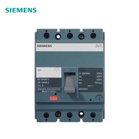 西门子 塑壳断路器;3VT63 N50 TMF F/3P