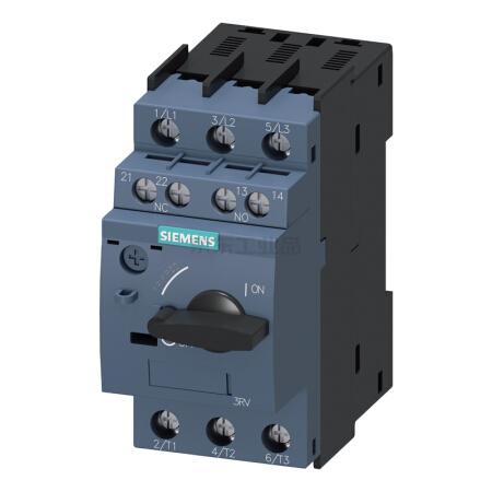 西门子 紧凑型限流电动机起动保护断路器;3RV60114AA15