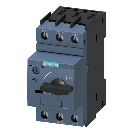 西门子 紧凑型限流电动机起动保护断路器;3RV60111JA10