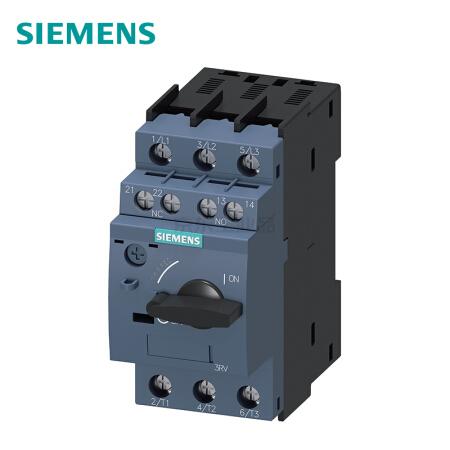 西门子 紧凑型限流电动机起动保护断路器;3RV60214BA15