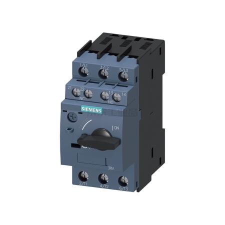 西门子 紧凑型限流电动机起动保护断路器;3RV60110HA15