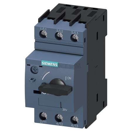 西门子 紧凑型限流电动机起动保护断路器;3RV60111GA10
