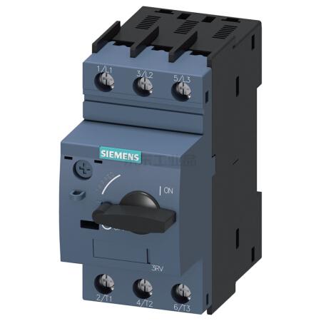 西门子 紧凑型限流电动机起动保护断路器;3RV60111FA10