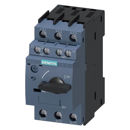 西门子 紧凑型限流电动机起动保护断路器;3RV60111BA15