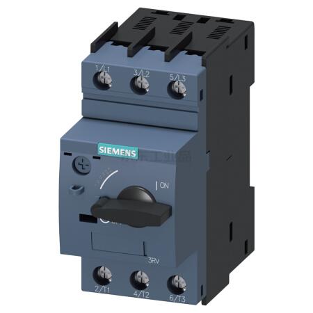 西门子 紧凑型限流电动机起动保护断路器;3RV60110JA10