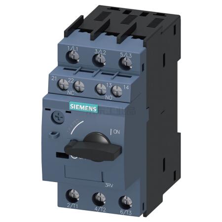 西门子 紧凑型限流电动机起动保护断路器;3RV60110FA15