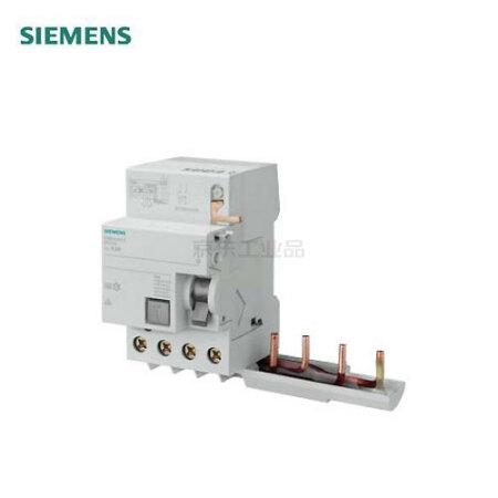 西门子 电磁式剩余电流模块 5SM2 电磁式 / 模块 AC 30mA 4P 0.3 ~ 40A;5SM2 电磁式 / 模块 AC 30mA 4P 0.3 ~ 40A