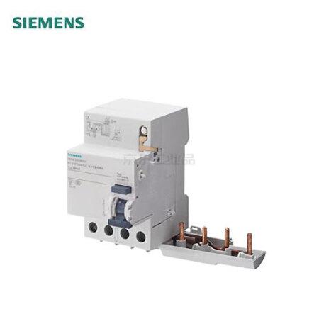 西门子 电子式剩余电流模块 5SM9 电子式 AC 30mA 4P 40A;5SM9 电子式 AC 30mA 4P 40A