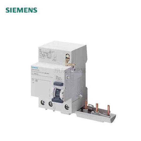 西门子 电子式剩余电流模块 5SM9 电子式 AC 30mA 3P 40A;5SM9 电子式 AC 30mA 3P 40A