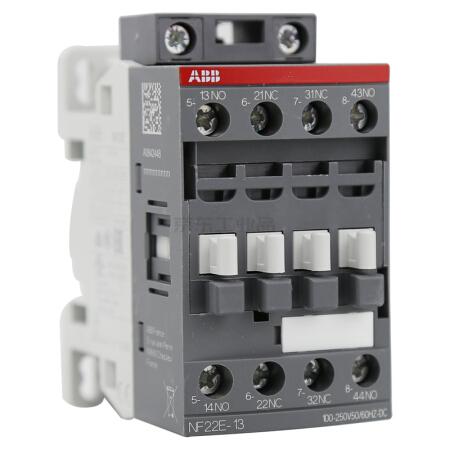 ABB 中间继电器,1个/盒;NF22E-13*100-250V AC/DC