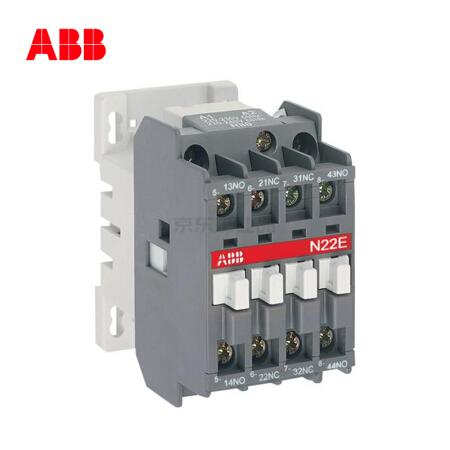 ABB 交流中间继电器-N型,40个/盒;N22E 380-400V 50Hz / 400-415V 60Hz