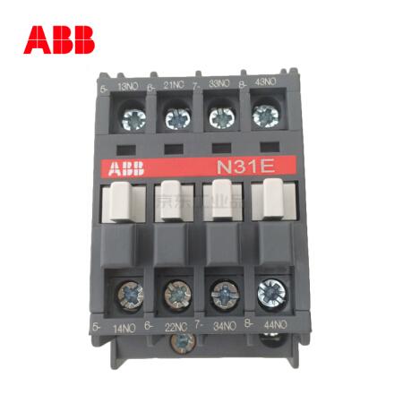 ABB 交流中间继电器-N型,40个/盒;N31E 220-230V 50Hz / 230-240V 60Hz