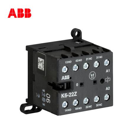 ABB 交流中间继电器-K型,10个/盒;K6-22Z*220-240V 40-450Hz