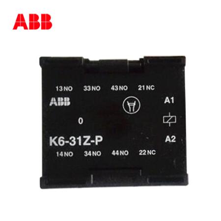 ABB 中间继电器,10个/盒;K6-31Z-P*220-240V 40-450Hz