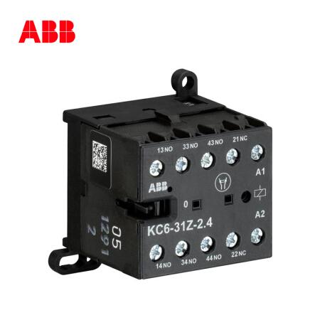 ABB 直流线圈中间继电器;KC6-31-Z*220-240V DC