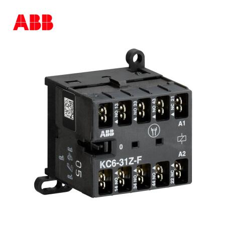 ABB 直流线圈中间继电器;KC6-31Z-F*220-240V DC