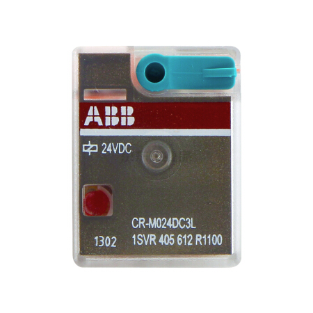 ABB 微型插拔式接口继电器;CR-M024DC3L