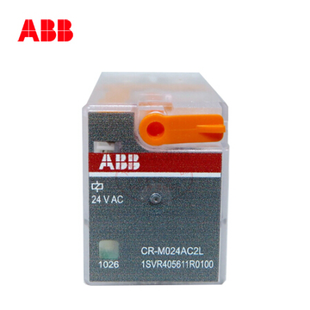 ABB 微型插拔式接口继电器;CR-M024DC2L