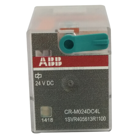 ABB 微型插拔式接口继电器;CR-M024DC4L