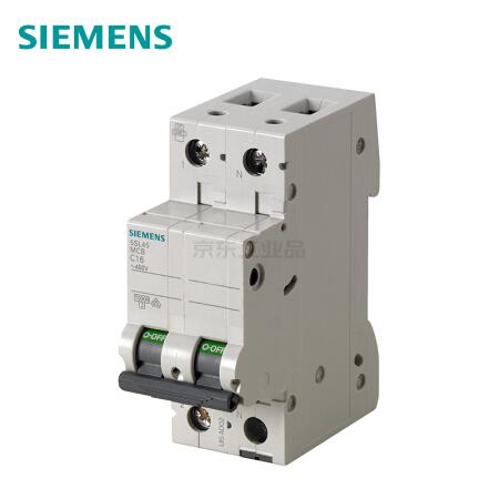 西门子 微型断路器;5SL4 1P+N D10