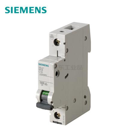 西门子 微型断路器;5SL4 1P D4