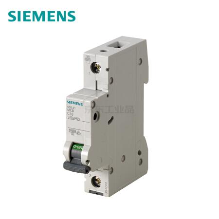 西门子 微型断路器;5SL4 1P C13