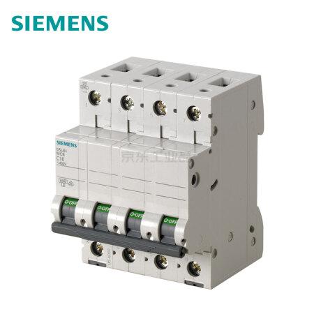 西门子 微型断路器;5SL6 4P D0.5