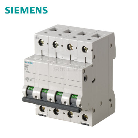 西门子 微型断路器;5SL6 4P D25