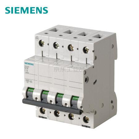 西门子 微型断路器;5SL6 4P B50A