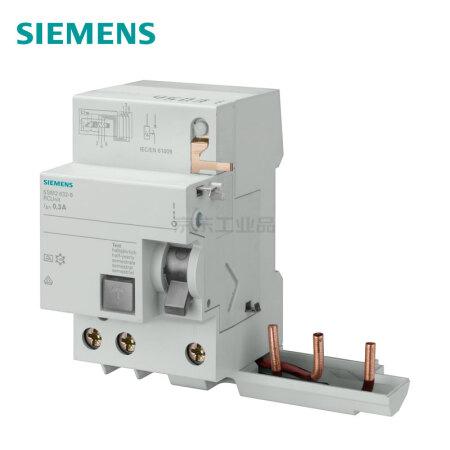 西门子 电磁式漏电保护器 A(S)选择型;5SM26368