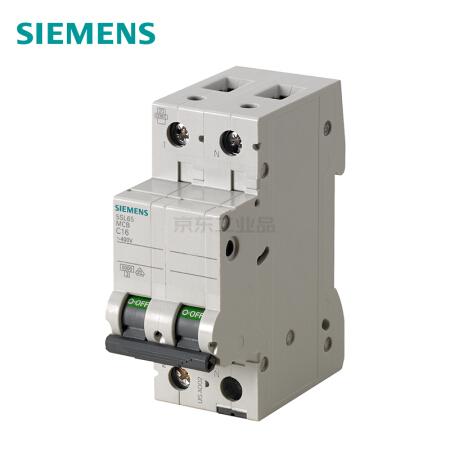 西门子 微型断路器;5SL6 1P+N C8