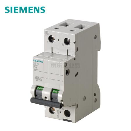 西门子 微型断路器;5SL6 1P+N C25