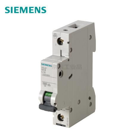 西门子 微型断路器;5SL6 1P D2