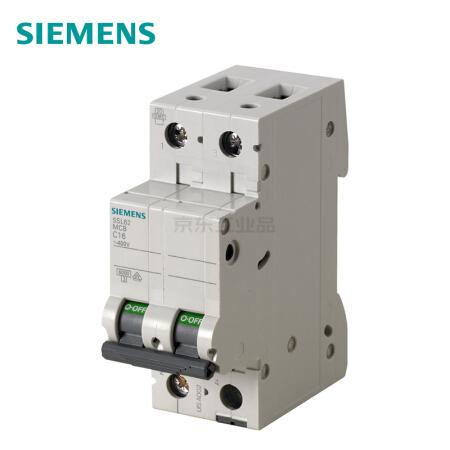 西门子 微型断路器;5SL6 2P C0.5