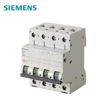 西门子 微型断路器;5SL6 4P D40